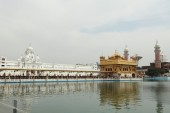 The Golden Temple of Amritsar in India — Стоковое фото