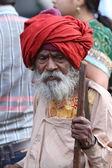 Indický stařík — Stock fotografie