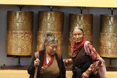 Vecchie signore indiane — Foto Stock