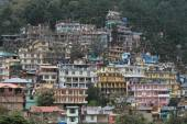 The City of Dharamsala in India — Stock Photo