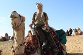 Tourists in Egypt — Stock Photo