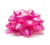 Подарок Розовый Бант — Стоковое фото