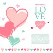 Post card for Valentines day — Stock Vector #61185955
