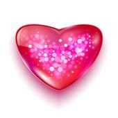 Glad alla hjärtans dag-kort — 图库矢量图片