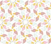 Seamless pattern with ice-cream — Stock Vector