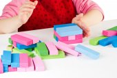 Wooden  blocks — Stock Photo