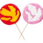 Plasticine candy — Stock Photo #66109527
