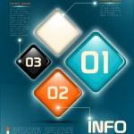 Infographic UI elements — Stock Vector #71833499