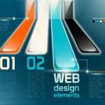 Web design elements — Stock Vector #71873159