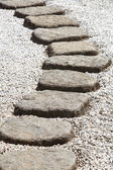 Camino de piedra — Foto de Stock