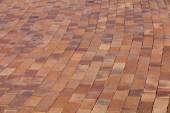 Street floor tiles as background — Stok fotoğraf