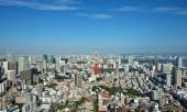 View of Tokyo city — Stock Photo