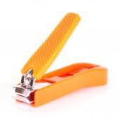 Orange nail clipper — Foto Stock