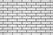 White brick modern wall background — Stock Photo