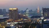 Beautiful view of Tokyo city — Stock Photo
