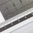 Stainless steel ruler isolated — Stock Photo #58741609