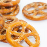 Baked bread pretzel snack — Stock Photo #59536351