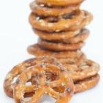 Baked bread pretzel snack — Stock Photo #59536369