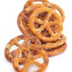 Baked bread pretzel snack — Stock Photo #59647943