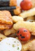 Japanese Otsumami rice cracker — Zdjęcie stockowe