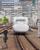 Shinkansen bullet train in Japan — Foto Stock