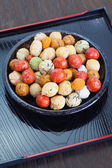 Japanese sweets beans — Stock Photo