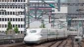 Bullet train network — Stock Photo