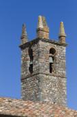 Wieża starego kościoła — Zdjęcie stockowe