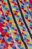 Colorful kites flying in the sky — Stock Photo