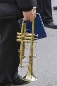 Old trumpet — Stockfoto