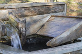 Old fountain for clothes — ストック写真
