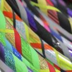 Colored hula hoop — Stock Photo #64505217