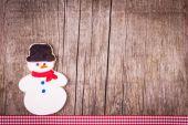 Pepparkakor cookie bakgrund — Stockfoto