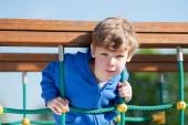 Boy Playing in the Park — Stock Photo