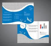 Tri fold brochure — Vecteur