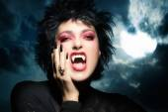 Beautiful Gothic Girl. Female werewolf — Stock Photo