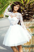 Bride in Wedding Dress — Stock Photo