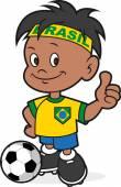 Futbol oyuncusu — Stok Vektör