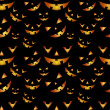 Halloween pompoenen patroon — Stockvector  #54186749