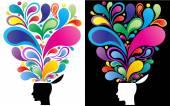Creative mind concept — Stock vektor