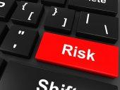 Risiko-Taste — Stockfoto