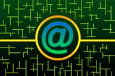 E-Mail Circuit — Foto de Stock