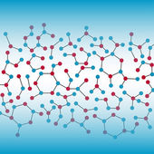 Chemistry Background — Stock Vector