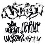 Vector Graffiti Tags - writing — Stock Vector #80218188