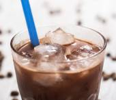 Cold coffee cocktail — Stock Photo