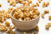 Bowl with popcorn — Stock Photo