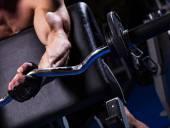 Ejercicio de bíceps — Foto de Stock