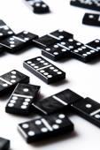 Pieces of domino — Foto de Stock