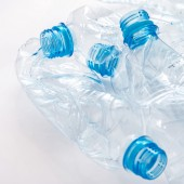Used plastic bootles — Stock Photo