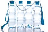 Botellas con agua — Foto de Stock